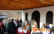 Τελέστηκε ιερά παράκληση στο Παρεκκλήσιο του Αγίου Αντωνίου κοντά στην γέφυρα του Κομψάτου, Διορθώθηκε μερικώς η σήμανση!