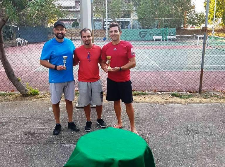 Ο Δημήτρης Δοβρίδης νικητής του 5ου τουρνουά Βετεράνων της Α' Ένωσης!