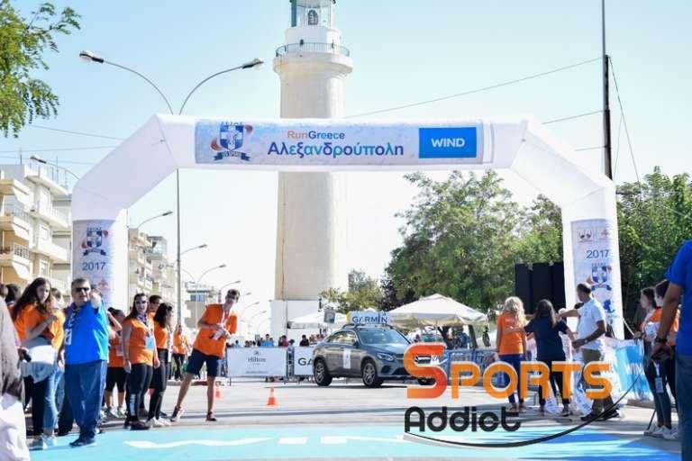 Με Θρακιώτες στο βάθρο των νικητών και νέα ρεκόρ ολοκληρώθηκε το 4ο Run Greece Αλεξανδρούπολης!