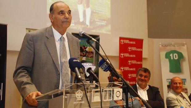 Ο Αντώνης Αντωνιάδης για τον Τάκη Λουκανίδη: «Ένας πραγματικός κολοσσός»