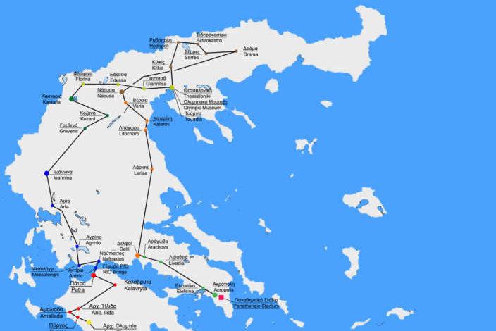 Απίστευτο, εκτός λαμπαδηδρομίας για την Χειμερινή Ολυμπιάδα η Θράκη που είναι η μόνη μαζί με νησιά και Κρήτη που αποκλείστηκε απο την ΕΟΕ! Απο την Ολυμπία μέχρι την Δράμα θα φτάσει η φλόγα!!!
