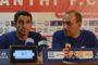 Μανόλο Χιμένεθ: «Δεν έχω ξαναδεί τα αποδυτήρια τόσο λυπημένα, αφιερωμένη κάθε νίκη στον Μάνταλο»