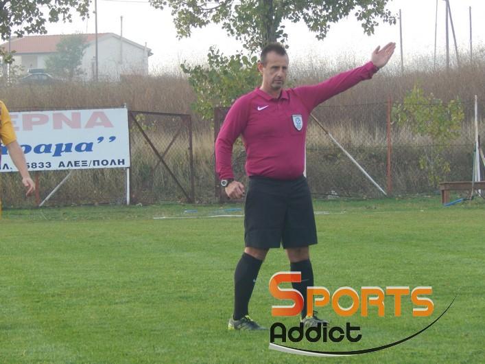 Ο Σιβούδης «σφυρίζει» τον ημιτελικό του Κυπέλλου Φέρες – Νίψα!