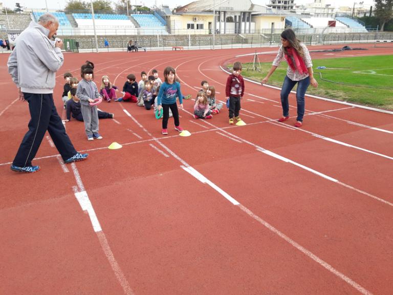 Σε εξέλιξη το πρόγραμμα Kids Athletics του Εθνικού Αλεξανδρούπολης