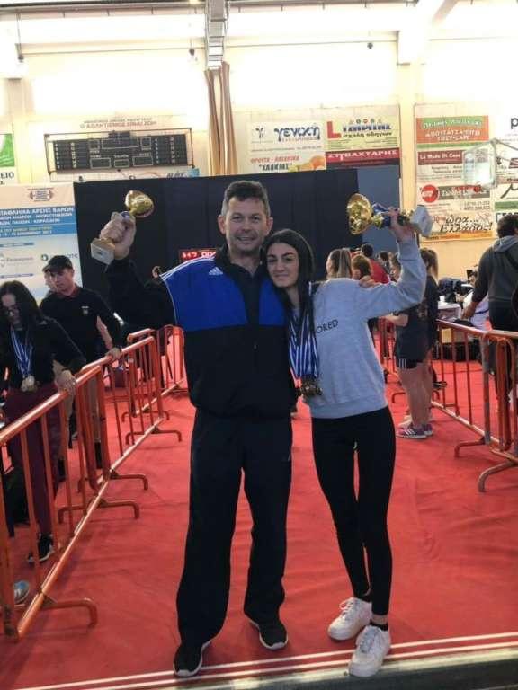 Υποψήφια Αθλήτρια της χρονιάς: Μαρία Καζαντζιάν