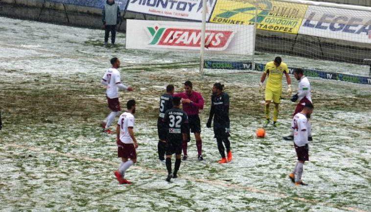 Απογοητευτική Ξάνθη στην χιονισμένη Λάρισα, πήρε σκορ πρόκρισης η ΑΕΛ! Έβαλε δύσκολα στον εαυτό της η Ξάνθη που