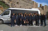 Επίσκεψη στο ιστορικό κάστρο της Μονεμβασίας για την Εθνική Κορασίδων