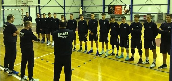 Απο το Λουτράκι ξεκινά το ταξίδι των έξι Εβριτών της Εθνικής Παίδων