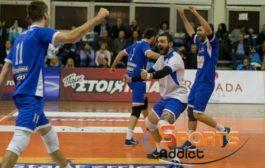 Στιγμές από το ματς του Εθνικού με τον Παμβοχαϊκό για τη Volley League (photos)