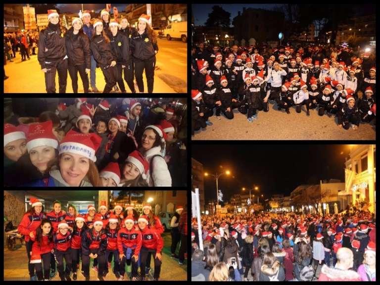 Photos: Ήταν όλοι εκεί για το 2ο Santa Run Κομοτηνής! Πλήθος αθλητικών συλλόγων στον αγώνα