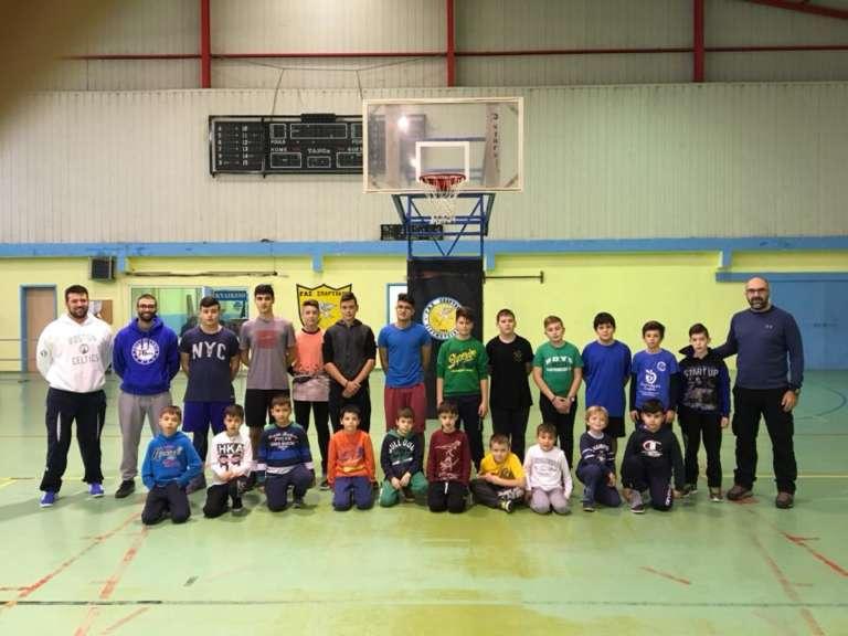 Με μεγάλη συμμετοχή το Χριστουγεννιάτικο κάμπ με προπονητές του Ηρακλή για τον Σπάρτακο Διδυμοτείχου!