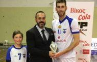 Παρέλαβε το βραβείο του MVP 8ης αγωνιστικής ο Βελίτσκοβιτς του Εθνικού