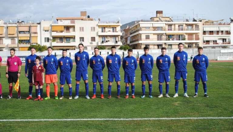 Φιλική ισοπαλία για την Εθνική Παίδων των Φάκη, Θυμιάνη και Γκατζόγια με Σλοβενία!