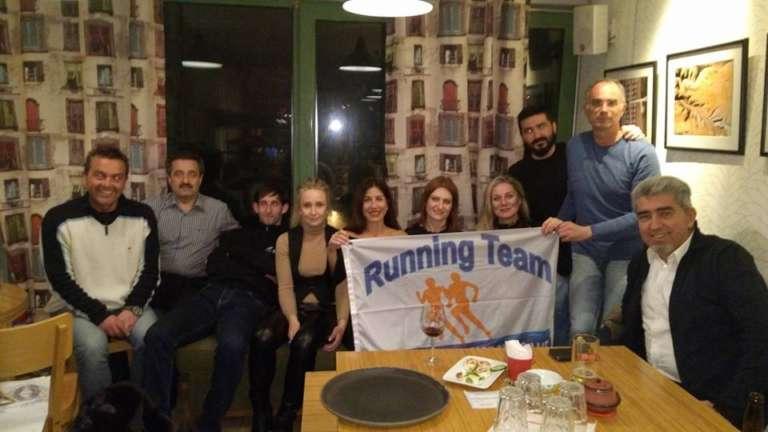Έκοψε την πίτα της η Running Team του Εθνικού, στην Στεργίου το φλουρί!