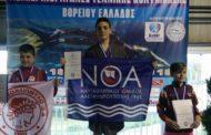 Πανελλήνιο ρεκόρ και επιτυχίες για το ΝΟΑ στους χειμερινούς αγώνες Βορείου Ελλάδος!