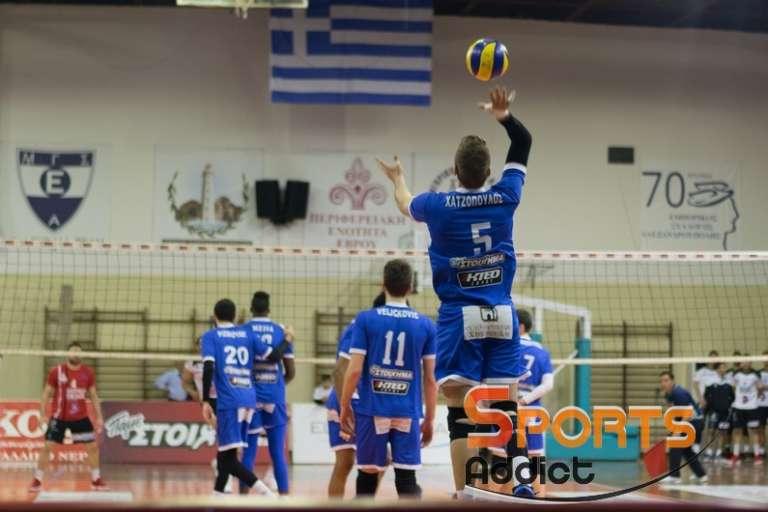 Volley League: Το πρόγραμμα & οι διαιτητές της 22ης και τελευταίας αγωνιστικής της κανονικής περιόδου