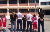 Το μήνυμα ενότητας που έστειλαν απο το 10ο Δημοτικό οι σύλλογοι μπάσκετ της Κομοτηνής!(+pics)