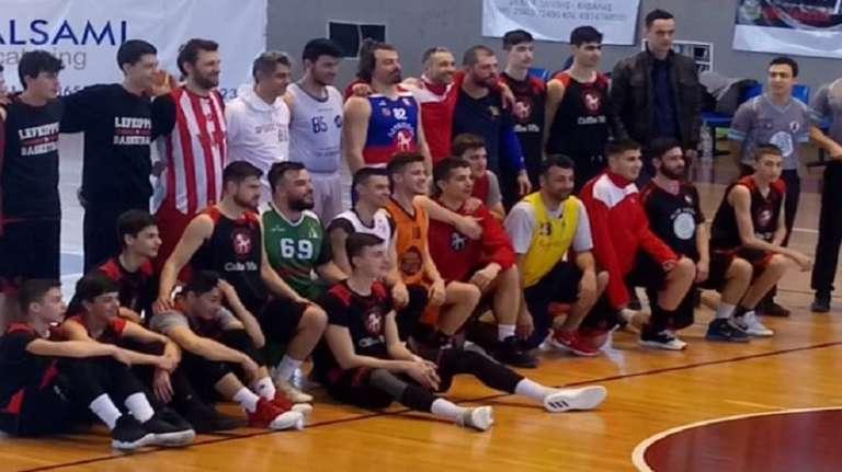 Έπαιξαν μπάσκετ για καλό σκοπό Λεύκιππος και Πολιτιστικοί σύλλογοι Ξάνθης(+pics)