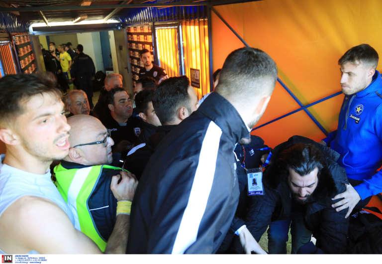 Video: Ένταση στο φινάλε του αγώνα του Αστέρα με ΠΑΟΚ με εμπλοκή Μπέρτου και