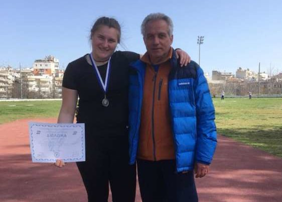 Υποψήφια Αθλήτρια της χρονιάς: Ευαγγελία Παπαϊωάννου