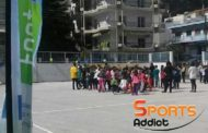 Επίσκεψη σε σχολείο και ενημέρωση για την δράση του FootApp απο την Ακαδημία του Άρη Πετεινού!