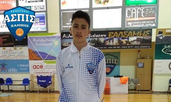 Στους επίλεκτους του 2oυ Young Talents tournament και ο Πέτρος Χαραλαμπιδης της Ασπίδας Ξάνθης!