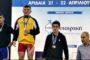 Μετάλλια και επιτυχίες για τους αρσιβαρίστες της ΑΕ Κομοτηνής στο Πανελλήνιο της Αριδαίας