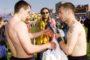 «Γιόρτασε» την επέτειο απο το παιχνίδι της ΑΕΚ στην εμπόλεμη Σερβία
