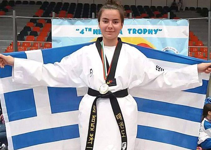 Υποψήφια Νέα Αθλήτρια της χρονιάς: Δέσποινα Παπαδοπούλου