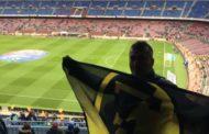 Ορφέας Ξάνθης και στο…Καμπ Νου! Ο ξανθιώτης υποστηρικτής του Ορφέα που σήκωσε σημαία στο Μπάρτσα-Λεβάντε