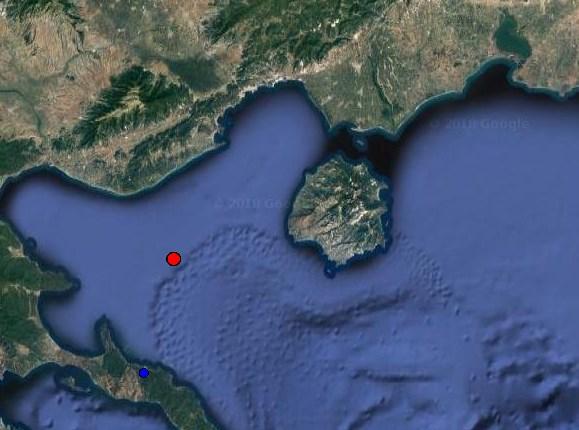 Σεισμός 3,7 ρίχτερ ανοιχτά της Θάσου!