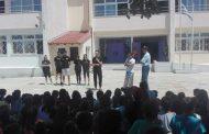 Το 8ο Δημοτικό Σχολείο Κομοτηνής επισκέφτηκε το τμήμα βόλεϊ της Α.Ε. Κομοτηνής