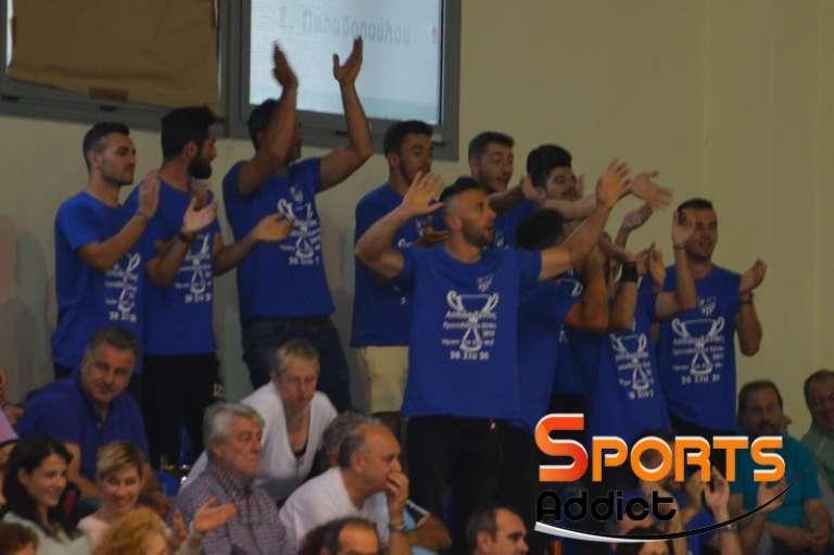 Photos: Στο πλευρό του τμήματος μπάσκετ η πρωταθλήτρια ποδοσφαιρική Ασπίδα Ξάνθης!