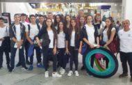 Με Κελεσίδη, Δημούδη & Μπαξεβανίδη «πέταξε» για την Παγκόσμια Γυμνασιάδα του Μαρόκου η Ελλάδα