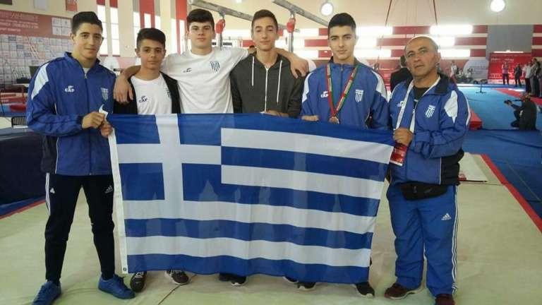 Με Κελεσίδη και πολλά όνειρα για διακρίσεις και μετάλλια ταξίδεψε για το Ευρωπαϊκό η Εθνική ομάδα Ενόργανης!