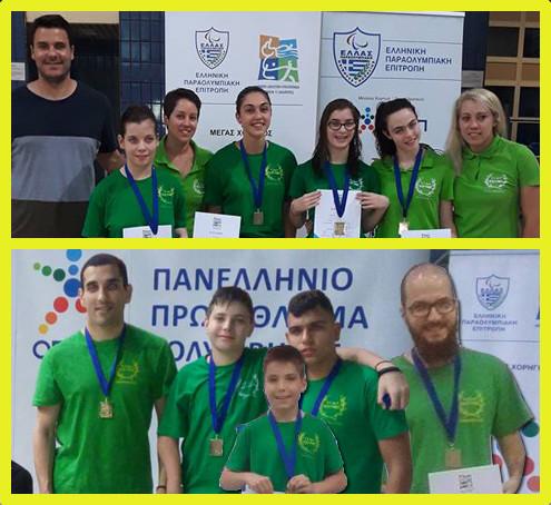 Με 8 πανελλήνια ρεκόρ και 39 μετάλλια επέστρεψε από την Αθήνα ο Κότινος!