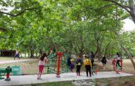 Τοποθετήθηκαν νέα υπαίθρια όργανα γυμναστικής σε διάφορα σημεία του Δήμου Αλεξανδρούπολης