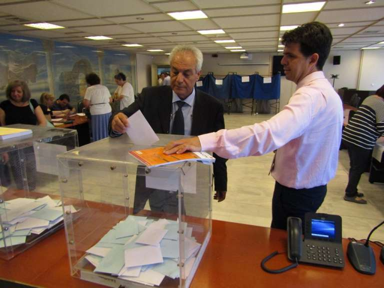 Με μεγάλη συμμετοχή διεξάγονται οι πρυτανικές εκλογές για ανάδειξη Πρύτανη και Αντιπρυτάνεων