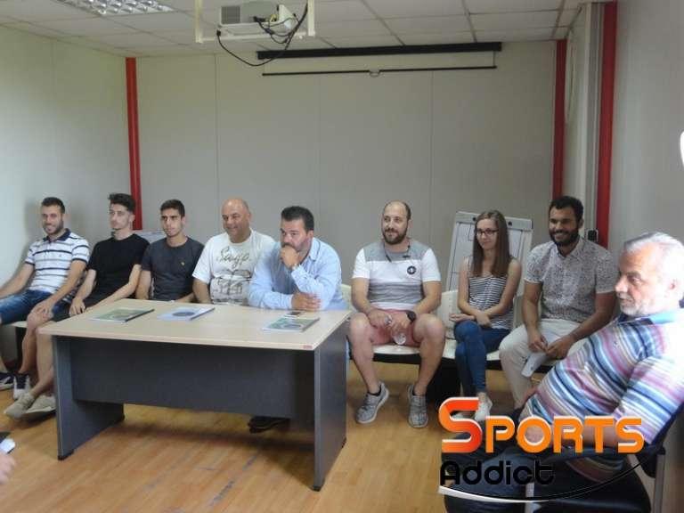 Η παρουσίαση του τεχνικού τιμ της ανδρικής ομάδας του ΑΠΣ Πανθρακικού!