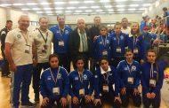 Με καλές εμφανίσεις και πολύτιμες εμπειρίες επέστρεψαν απο το Ευρωπαϊκό Μπάρμπα και Μπατζακίδης!