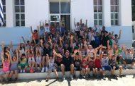 Σε σχολείο στο Μαρμάρι Εύβοιας Τσέλιος, Γκιούρδας και άλλοι άνθρωποι της Εθνικής