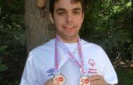 Σπουδαία παρουσία με δύο χρυσά για τον Ιάσων Παπαδόπουλο στους Πανελλήνιους Special Olympics!