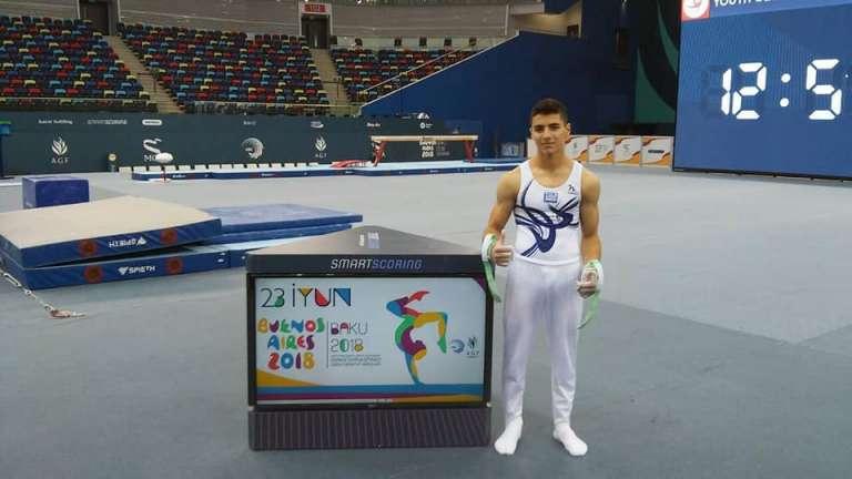92fb05b6718 Στις επιλογές της Εθνικής εφήβων ενόργανης γυμναστικής ο Γιωργος Κελεσίδης!