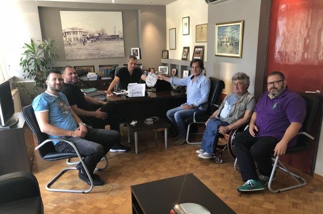 Επίσκεψη σε Αντιπεριφερειάρχη και Δήμαρχο Κομοτηνής Ο.Σ.Ε.Κ.Α και Ηρόδικου για το 2ο διεθνές τουρνουά Θράκη 2018 που γίνεται θεσμός!