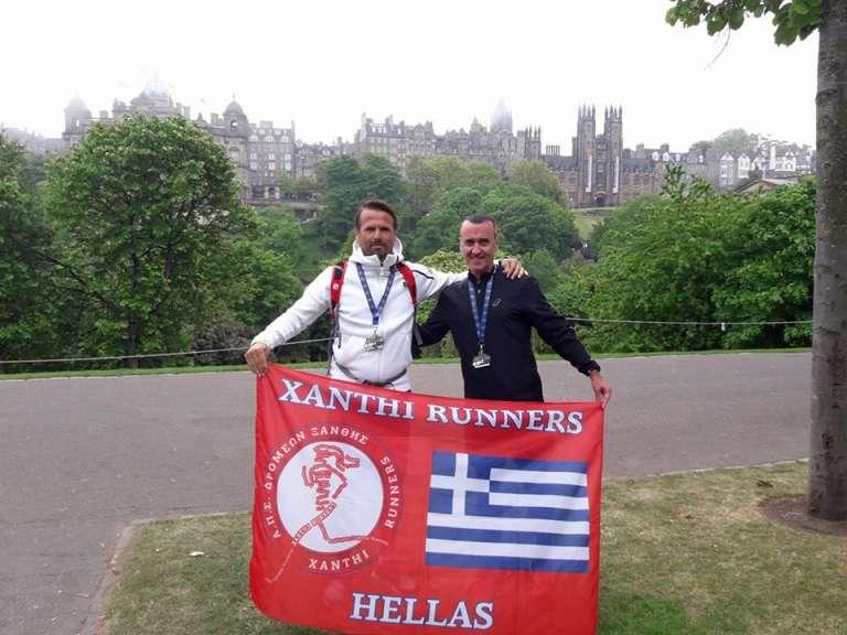 Έτρεξε στον μαραθώνιο του Εδιμβούργου ο Γιάννης Παπαδημητρίου! Οι επιδόσεις των τεσσάρων Xanthi Runners