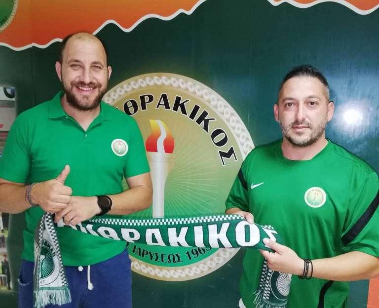 Και επίσημα στον ΑΠΣ Πανθρακικό ο Σάκης Γιαννακίδης!