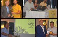 Photos: Με θέρμη υποδέχθηκε η Ξάνθη και η ΑΕΚ Κυψέλης το Νίκο Αγγελίδη και το βιβλίο