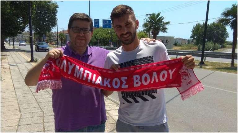 Ενίσχυση στα μετόπισθεν με πρώην παίκτη του Πανθρακικού ο Ολυμπιακός Βόλου!