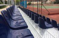 Νέες μεταλλικές κερκίδες στα Δημοτικά γήπεδα τέννις της Ορεστιάδας!(+photos)