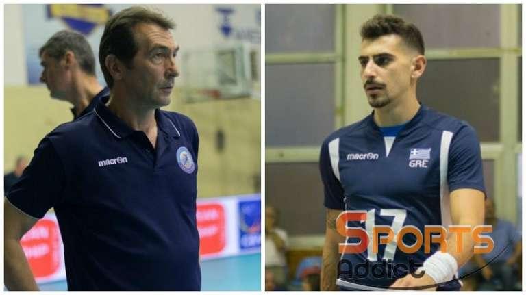 Ανδρεόπουλος & Πρωτοψάλτης στο SportsAddict μετά τη νίκη - μισή πρόκριση στην Αλεξ/πολη (video)
